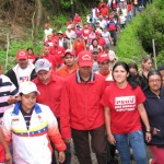 Morales camina en la población de Jajo